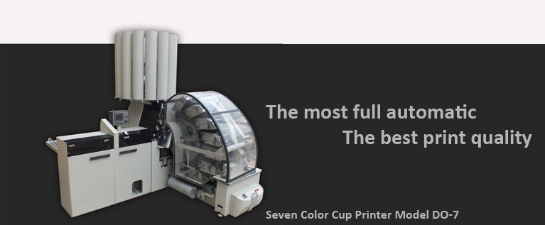 seven color cup printing machine model DO-7